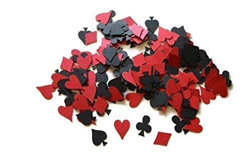 Casino Night Poker Confetti 200 (Gambling Supplies Las Vegas)