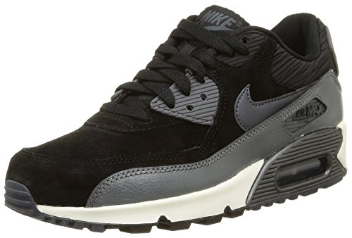 Max Scarpe 90 Nike Hematite Sportive Lthr Donna Gry mtlc Air Wmns Black sl drk wgqAXE