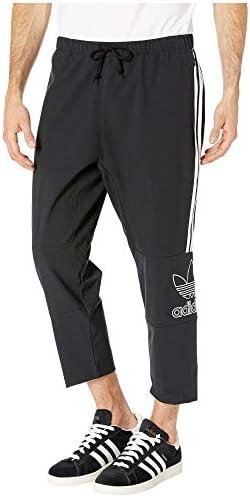 Originals (アディダス) メンズ ボトムス・パンツ Outline 7/8 Pants Black サイズMD-24 [並行輸入品]