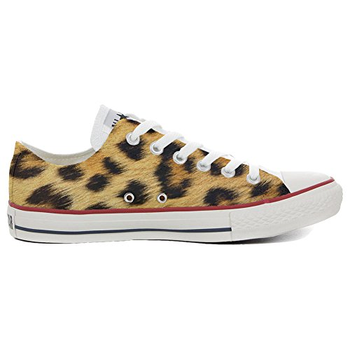 Converse All Star Chaussures Coutume (produit artisanal) Slim leopard