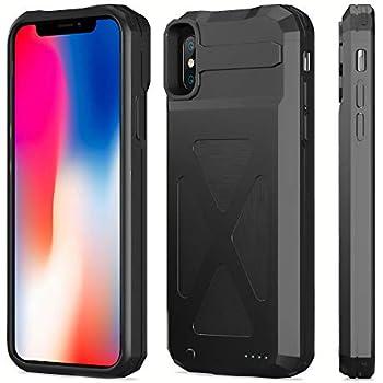 Amazon.com: iPhone X carcasa de batería, zonhood 4000 mAh ...