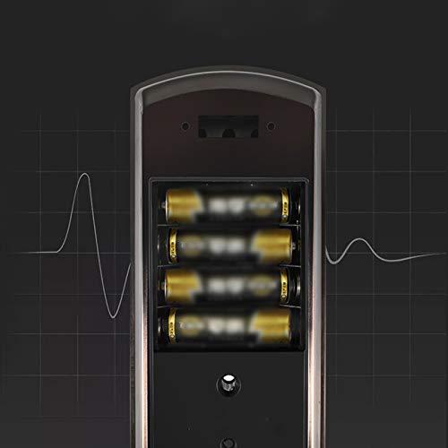 BLWX - Smart Lock-Stainless Steel+zinc Alloy-Fingerprint Lock Home Security Door Lock Password Lock Electronic Lock Door Lock Card Magnetic Card Lock-Size: 357X80X68mm Door Lock (Color : B) by BLWX-home renovation. Door lock (Image #3)