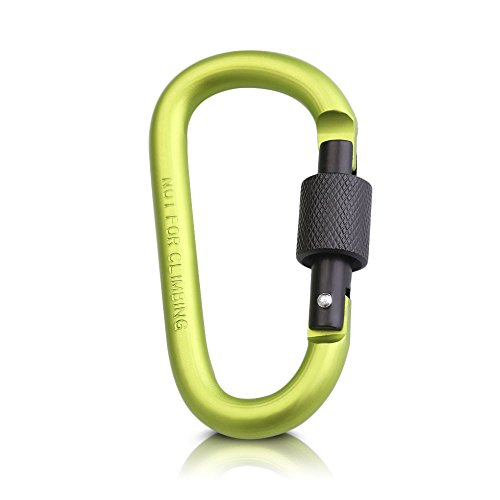 Dark Green Pool Tablecloth (MIJORA-Screw Climbing Locking Carabiners Belt Clip Key Chain Snap Hook D-Ring Buckle(fruit green))