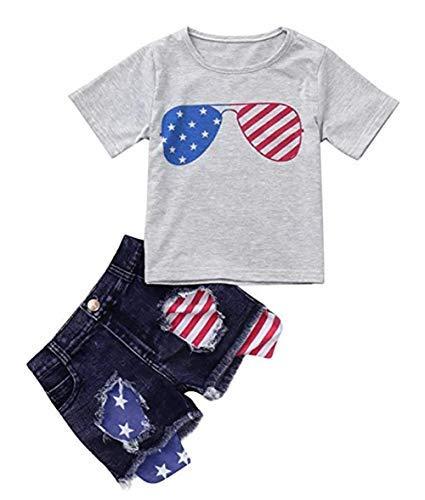 Amazon.com: Conjunto de pantalón corto con estampado de la ...
