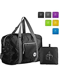 Foldable Travel Duffel Bag Luggage Sports Gym Water Resistant Nylon 3d6912a513c9f