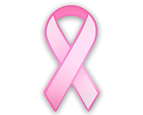 Breast Cancer Awareness Pink Paper Ribbon Cutouts (50 Ribbons - Wholesale) Awareness Stock