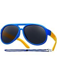 Kids Rubber Flexible Polarized Sunglasses Boys Girls Age...