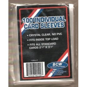 BCW 1 SSLV Card Sleeves 834