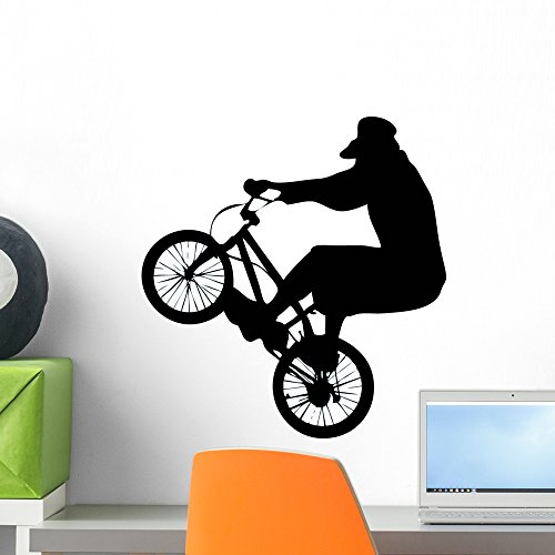 Cheap  Wallmonkeys WM131208 BMX Wall Decal Peel and Stick Graphic (18 in H..