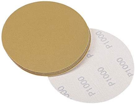 1000 inch hook and loop sanding discs with 5 aluminum oxide grains 5 pieces