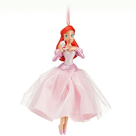 Disney Princess Ariel The Little Mermaid 'Under the Tree!' Sketchbook Ornament