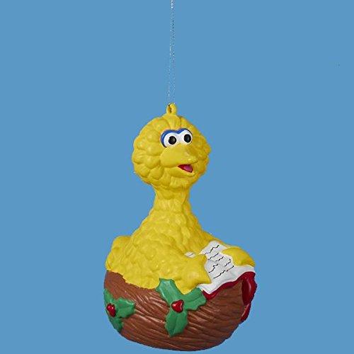 Kurt Adler Big Bird in Nest Ornament