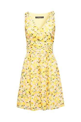 Esprit yellow Jaune 750 Collection Femme Robe TYwqTSrP