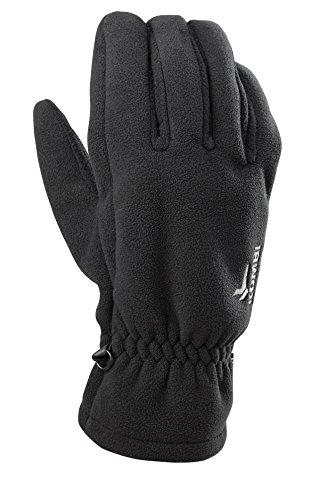 Kombi Fleece Gloves - Kombi Women's Barrier Fleece Cold Weather Gloves, Medium, Black