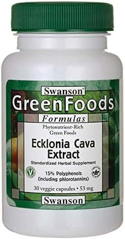 Swanson Ecklonia Cava Extract 53 Milligrams 30 Veg Capsules