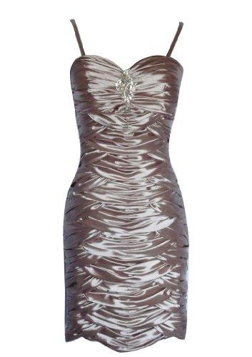 Kleid Damen Fashion Y Alivila Coffee FqUfzzW