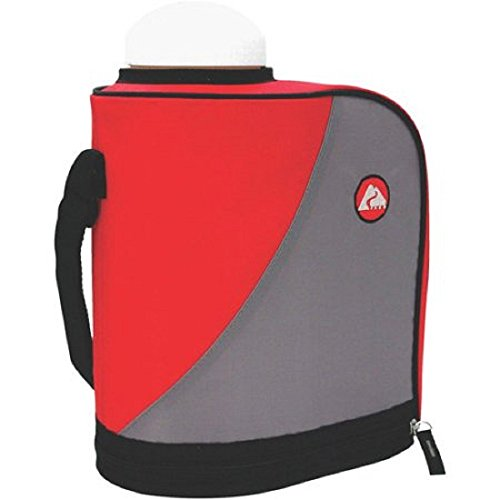 Ozark 1 Gallon Water Hydration Insulated Jug Sports Camping Hiking Outdoor Water Bottle 1 Gallon Jug Keeps Water Cold Red from OZARK TRAIL