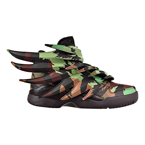 Adidas ObyO JS Jeremy Scott Wings 3.0 Print S77804 Black/White Men's Shoes (size - Scott Jeremy
