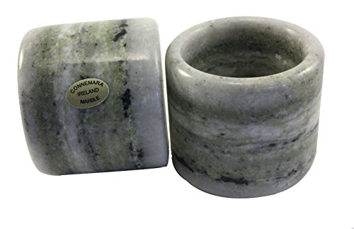 le Napkin Ring Holders Set Off Two (Connemara Marble Set)
