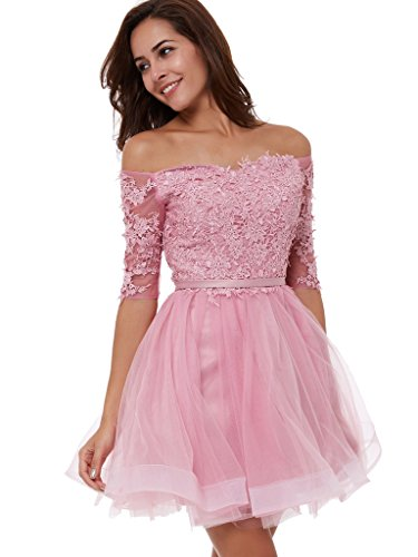 Pink Homecoming Dresses - 7