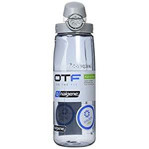 Nalgene Tritan On The Fly Water Bottle, Smoke, 24Oz