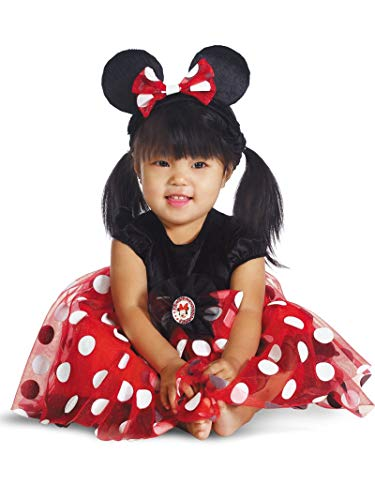 Disguise My First Disney Red Minnie Costume, Black/Red/White, 6-12 Months
