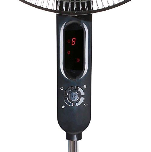 Digital Pedestal Fan : Avalon inch standing fan adjustable height digital