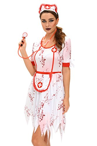 Chase-Secret-Womens-Zombie-Nurse-Costume-Ladies-Halloween-Costume