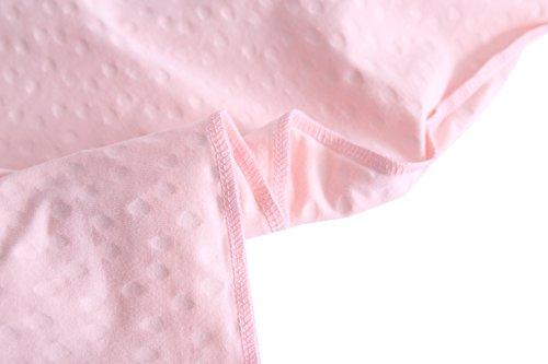 volante as Abclothing mangas de Vestido algod para ni sin URxwHxcfq6