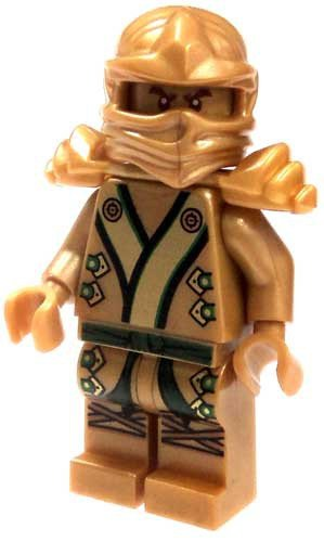 Lego Ninjago 2013 Final Battle Gold Lloyd Garmadon Minifigure -