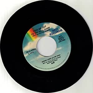 ANDREWS SISTERS; & Dan Dailey / Take Me Out To Bhe Ball Game bw In The Good Old Summer Time / 45rpm REISSUE record