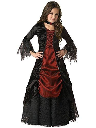 Gothic Vampiress Elite Girl's Costume - Child Gothic Vampiress Costumes