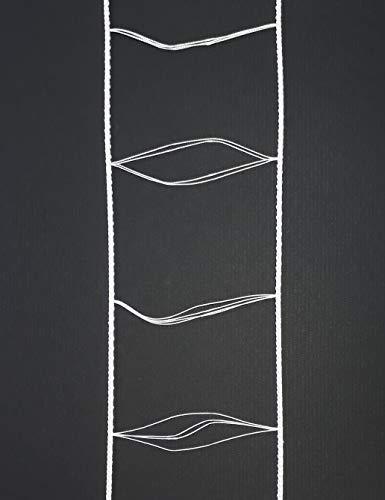 Asia Buy White Ladder String Tape for 2.5″ Blinds (54mmX67mm) (100, feet)