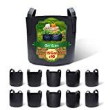 Gardzen 10-Pack 15 Gallon Grow Bags, Aeration