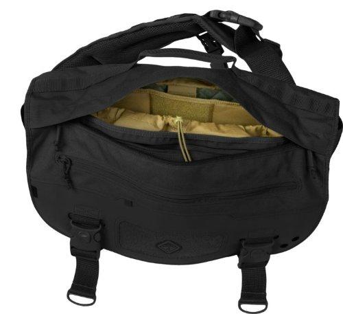Hazard 4 Defense Courier Diagonal Messenger Bag with Molle, Black by HAZARD 4