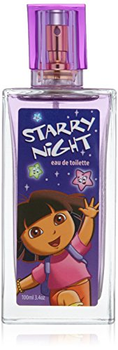 Dora the Explorer Starry Night by Marmol & Son for Kids - 3.4 oz EDT Spray from Nickelodeon