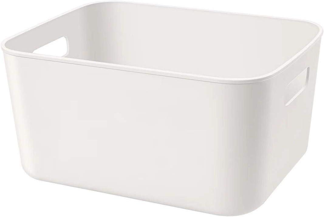 Amyup Plastic Storage Bin,10x8x5.5'' Versatile Kitchen Pantry Organization and Storage,for Plastic Storage Container for Under Bed,Desk,Office and Drawer,Toy Baskets,Under Sink Bathroom Organizer