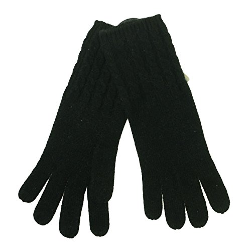 Isotoner Charter Club Cashmere Gloves (One Size, Black)