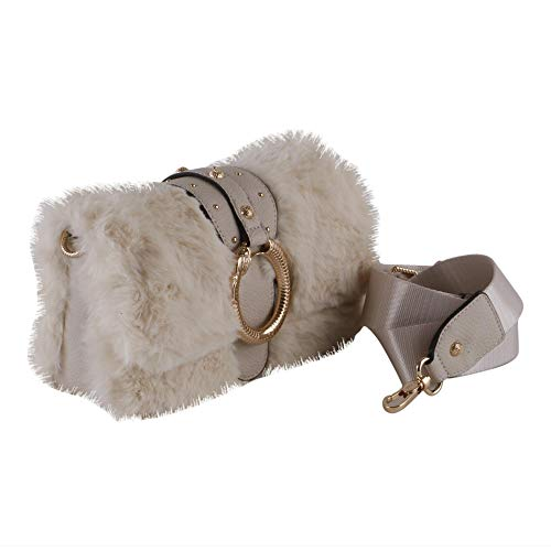 Nero Donna Liu B19lj46 Ecopelliccia Fur Crossbody jo Tracolla Mod Colore In Darsena z6qwvH