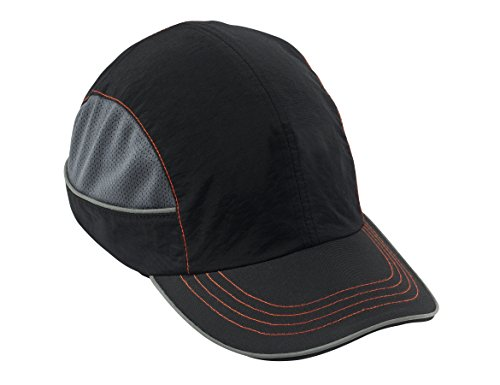 Safety Bump Cap, Baseball Hat Style, Comfortable Head Protection, Long Brim, Skullerz 8950