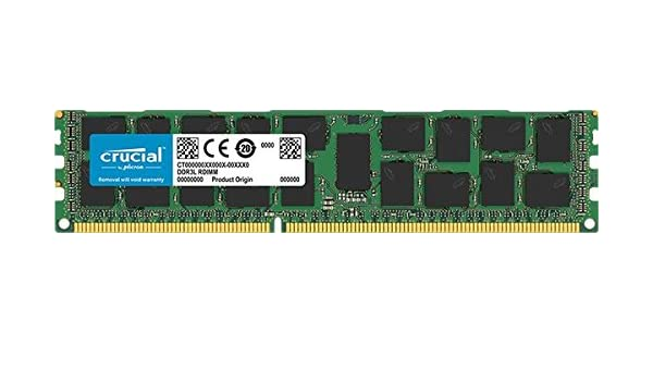 16GB Upgrade for a Dell PowerEdge R710 System (DDR3 PC3-12800, ECC