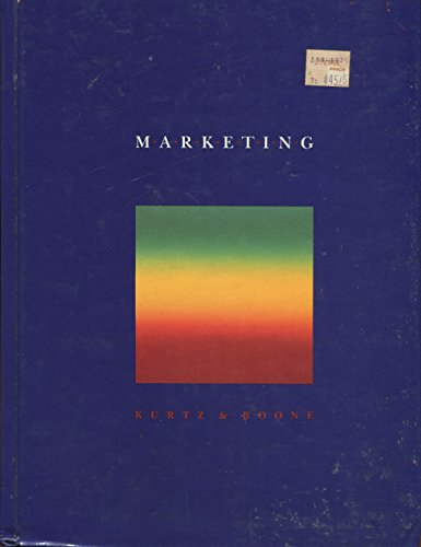 Marketing (The Dryden Press series in marketing)
