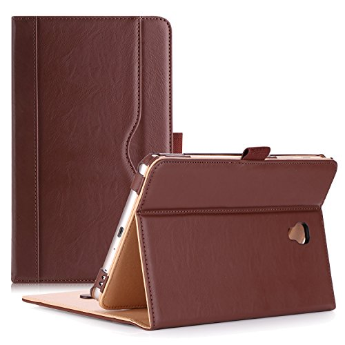 ProCase Galaxy Tab A 8.0 Case 2017 Model T380 T385 - Stand Folio Case Cover for 8.0 inch Samsung Galaxy Tab A Tablet 2017 T380 T385 -Brown