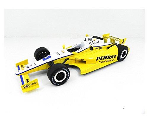 2012 F-Indy Hélio Castroneves Penske1/18 Greenlight Amarelo