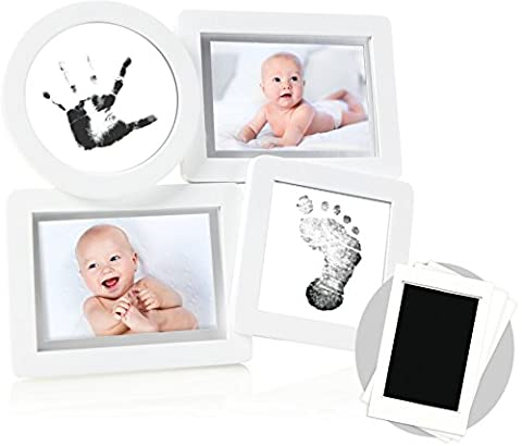 Pearhead Babyprints Newborn Collage Frame with