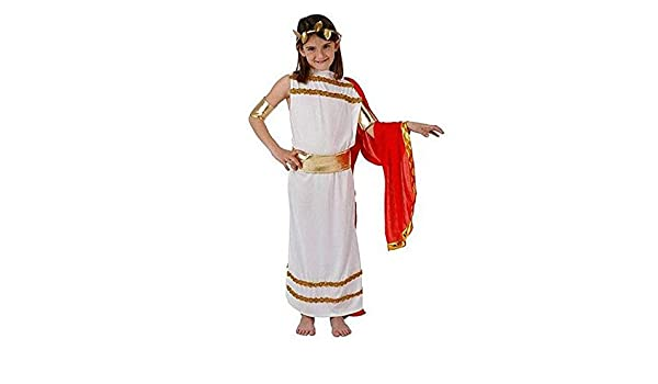 DISBACANAL Disfraz emperatriz Romana Infantil - -, 5-6 años ...