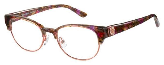 Amazon.com  JUICY COUTURE Eyeglasses 172 0NXA Pink Burgundy  Clothing cb9642573