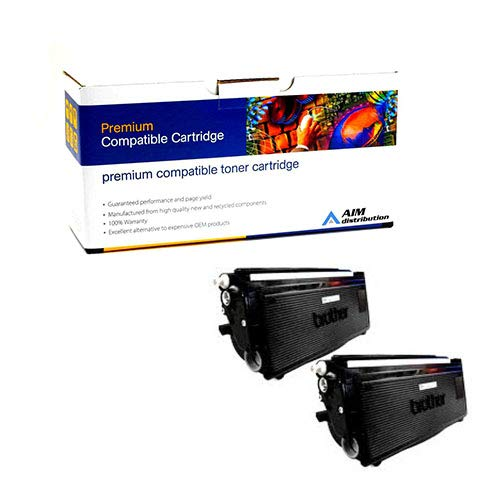 AIM Compatible Replacement for Brother TN-3060 Toner Cartridge (2/PK) (6700 Page Yield) - Generic