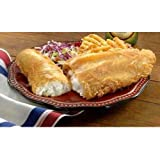 Yuengling Brewers Choice Beer Battered Haddock Fillet, 8 Ounce of 19-21 Pieces, 10 Pound -- 1 each.