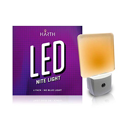- Sleep Mode 2 Night Lite (2-Pack) Sleep Mode Nite Lite with No Blue Light. Perfect for Nursery, Bathroom, Hallway. Auto On/Off Amber Color, Promotes Natural Melatonin Release. (2 Pack)